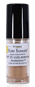 Sun Shadz - Colorless SPF 15 Protection for Hair and Scalp