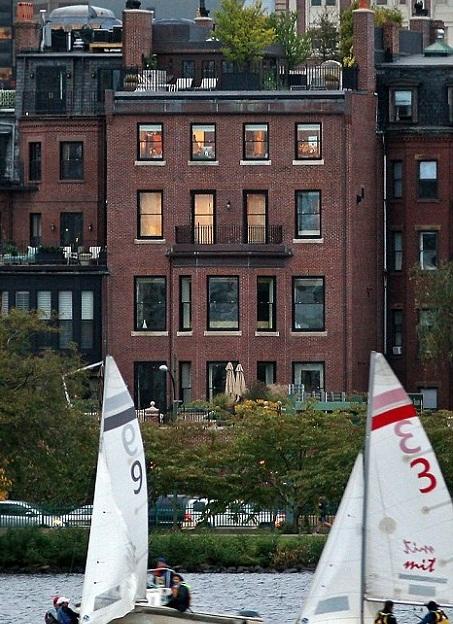 Tom Brady Gisele Boston Penthouse Bostonkayakguy John