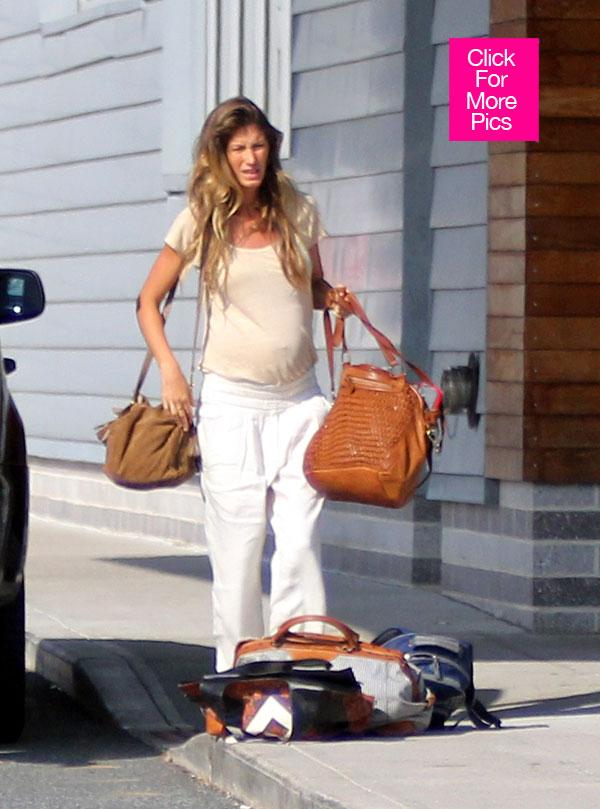 Gisele Baby Bump Courtesy Hollywood Life